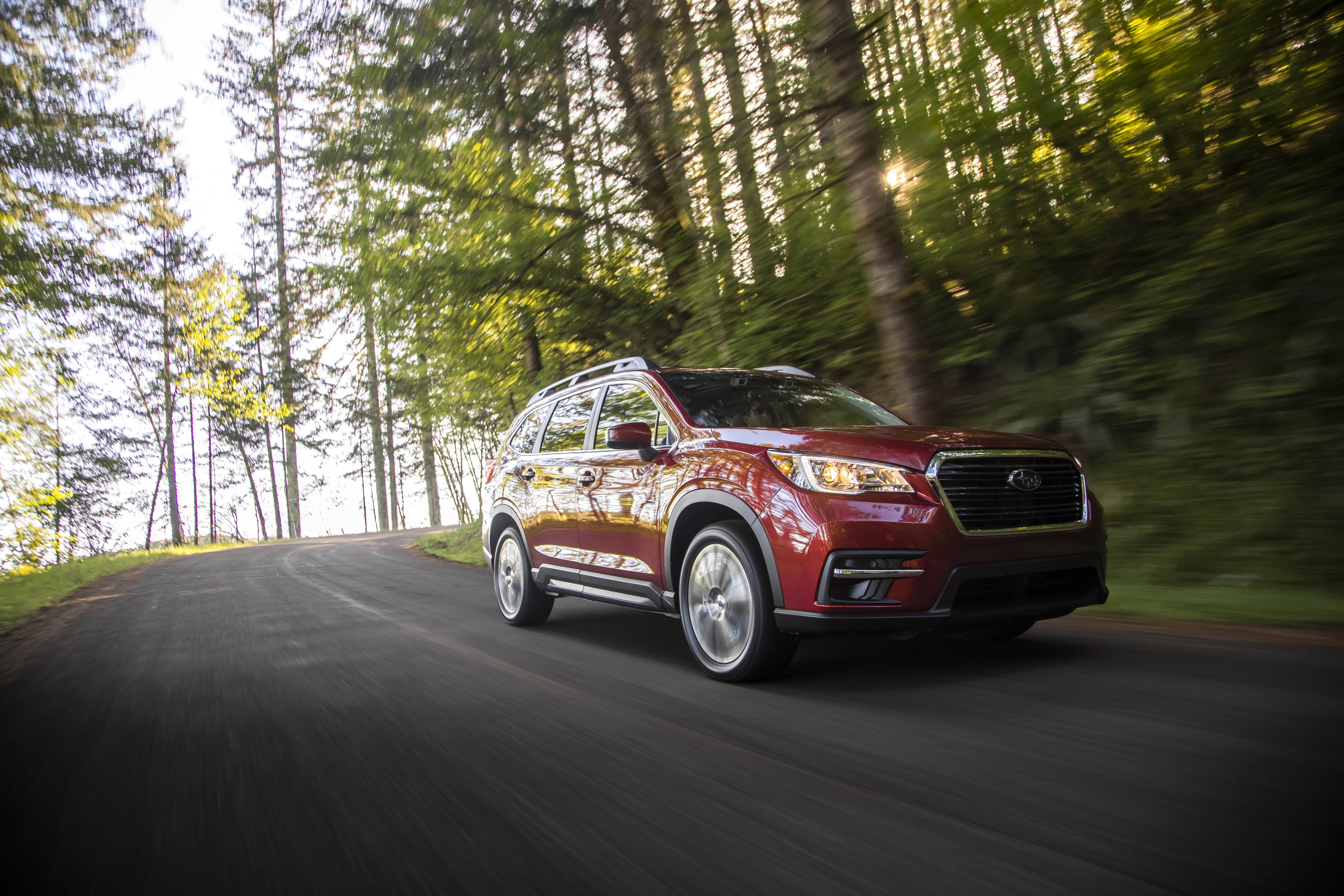 2020 Subaru Ascent Limited with Captain's Chairs